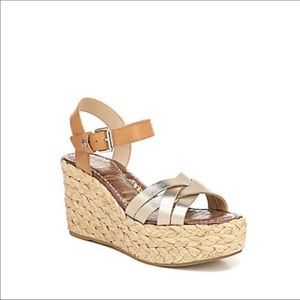 Sam Edelman Braided Wedges